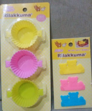 Rilakkuma Bento Accessories Set C