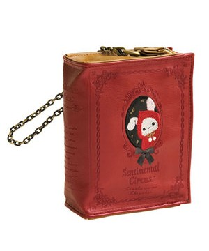 Sentimental Circus Red Riding Hood Book Pouch