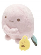 Pink Tapioca Mini Bean Plush