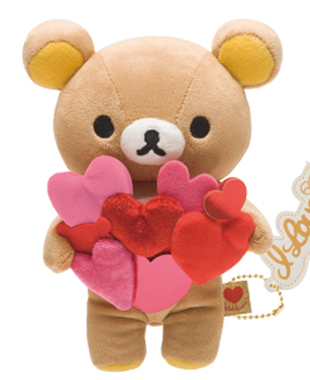 pre-order] rilakkuma st. valentine's day plush | rilakkuma shop, Ideas