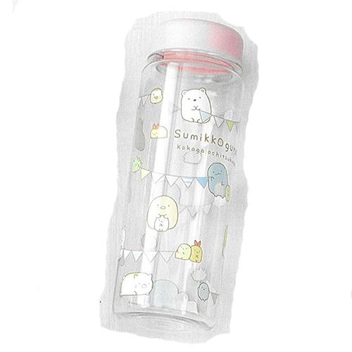 [PRE-ORDER] Sumikko Gurashi 500ml Water Bottle (Pink) | Rilakkuma Shop